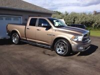 2010 Dodge Ram 1500 Laramie Quad Cab 4x4 - One Owner, low miles!