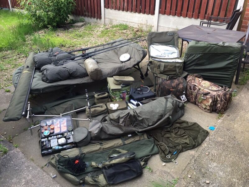 carp fishing tackle for sale will sell separately in