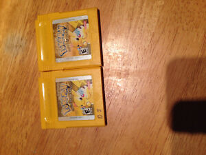 2 Pokemon Yellow Games (Special Edition Peterborough Peterborough Area image 1