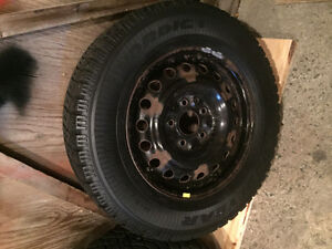 225/65/R16 Goodyear Nordic Winter rims and tires. St. John's Newfoundland image 4