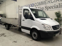 2012 62 Mercedes-Benz Sprinter 313CDI LWB DROPSIDER