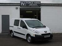 PEUGEOT EXPERT TEPEE 2.0HDi 120PS COMBI CREW DAY BAND DOG K9 DISPATCH VAN