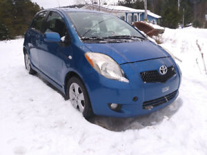 2007 Toyota Yaris Rs Berline