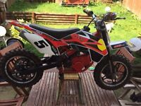 Kids 50cc fun dirt motorbike