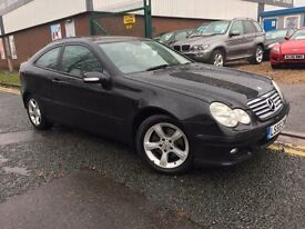 "MERCEDES C180 KOMP """"55 PLATE"""" COUPE MANUAL ALLOYS"