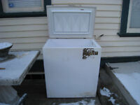 Free older Viking 7cf freezer, works well