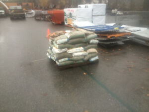 Approximately 50 bags of play sand