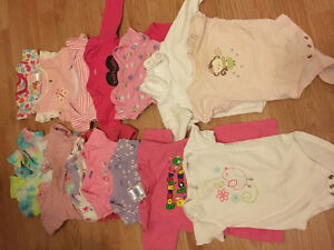 Baby girl clothes size 3-9 months