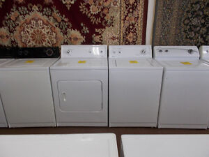 Matching Kenmore washer and dryer. 90 day warranty. Sale $499.