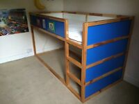 IKEA Kids Kura cabin bed. Reversible