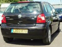 2003 Volkswagen Polo 1.2 S 5dr (a/c) Hatchback Petrol Manual