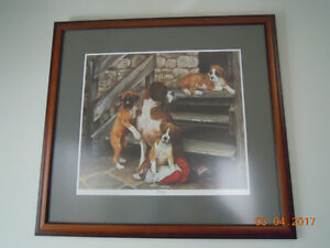 Dog Picture - Boxers – WAITING TO BE PICKED UP