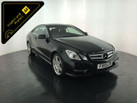 2013 MERCEDES E250 SPORT CDI BLUE EFFICIENCY COUPE 1 OWNER FULL HISTORY FINANCE