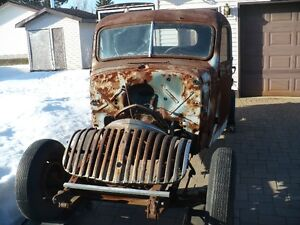 1941 Chevy truck rat rod project