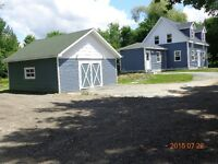Cape Cod Style 1 1/2 Story 3 Bdrm  house for sale st.stephen n.b