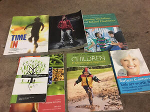 Child And Youth Care Fanshawe 1st Year Textbooks + Foodonomics