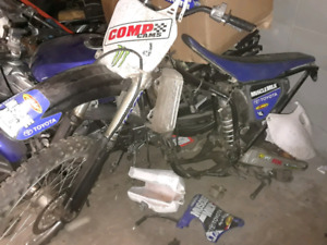 Parting out 2002 Yamaha YZ250F