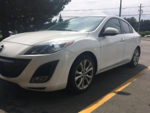 2010 MAZDA 3 - 2.5 L - BOSE SOUND, FULLY LOADED LEATHER SUNROOF