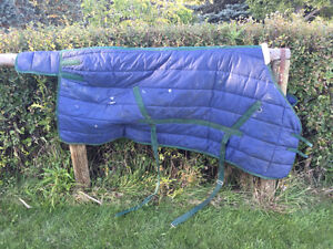 Various Horse Blankets & Other Tack For Sale