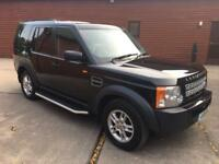 2008 LAND ROVER DISCOVERY 3 GS 2.7 TDV6 MANUAL 4X4 7 SEATER TURBO DIESEL