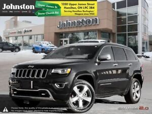 2015 Jeep Grand Cherokee Overland  DIESEL~HEATED SEATS~NAV~BLUET