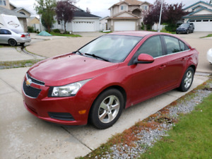 2012 Chevrolet cruze LT 4 cylinder autom private seal $ 5900 obo