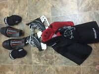 FOR SALE VARIOUS HOCKEY EQUIPMENT