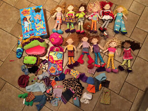 Groovy Girl dolls and accessories