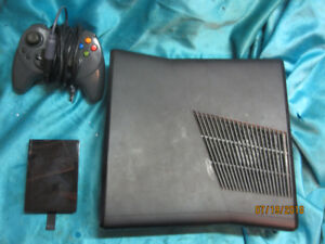 Xbox 360 SLIM bundle  hard drive controller and 2 Games