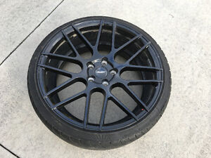 Low Kms - 4 FAST Rims with Nankang Tires