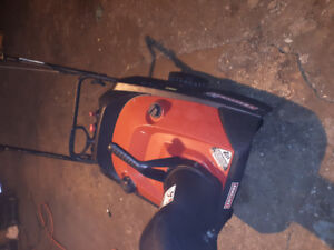 Two snowblowers for sale