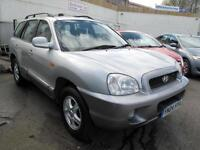 2004 04 Hyundai Santa Fe 2.0 CRTD CDX AUTO DIESEL 4x4 101K 10 Stamps