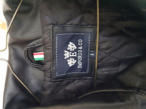 Real leather mens jacket Emporio & Com