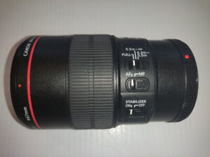 Canon EF 100mm f/2.8 L IS USM Macro Lens  Mint condition