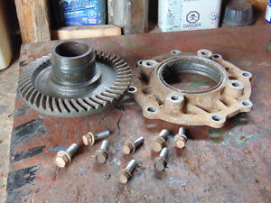 Yamaha 250,Rear Differential Gear and housing cover
