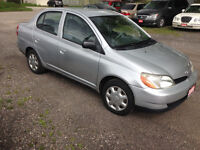 2000 Toyota Echo Sedan. 107200 km. Kitchener / Waterloo Kitchener Area Preview