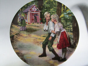 Hansel und Gretel collectors plate