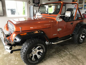 JEEP YG-1987 ORANGE BRULÉ