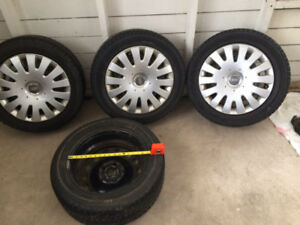 Snow Tires and Rims 205/55R16 v94