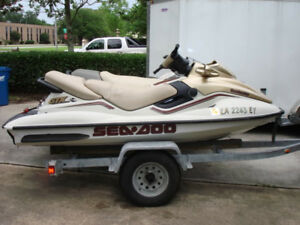 1999 Seadoo GTX limited 800 fuel injected