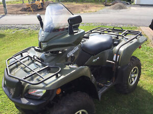 2013 SUZUKI 750AXI KING QUAD (( WE FINANCE ))