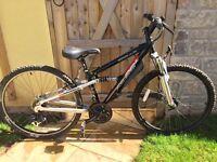 Boys mountain bike- full suspension