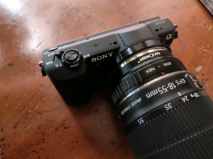 SONY a5100 body and accessories