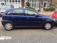 Vauxhall Corsa Automatic 1.4 5 Door 2006 Mot and Tax