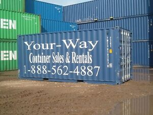 Barrie & Orillia storage container rentals from 80.00 per month