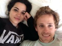 Lovely couple looking for a double room or studio London October 2016