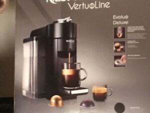 Nespresso VertuoLine Coffee and Espresso Machine  like NEW