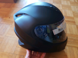 Motorcyle helmet size large and gloves. BRAND NEW