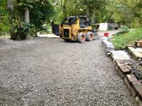 Driveway grading and repair