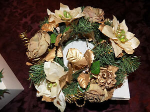 PARTYLITE CANDLE WREATHS (CANDLES NOT INCLUDED)